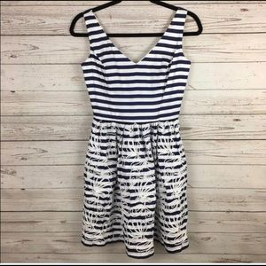 Lilly Pulitzer rosewell striped dress size 0